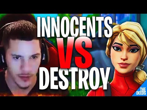 Ghost Innocents 1 VS 1 Destroy | Fortnite Creative 1v1 *NA BUILD FIGHTS*