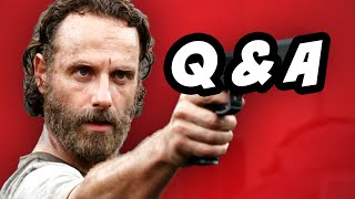 Walking Dead Season 5 Episode 7 Q&A - Next To Die
