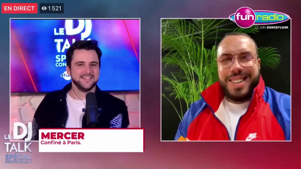 MERCER interview sur FUN RADIO avec Adrien Toma (LaMercerie.Biz, Supreme 93, Confinement etc.)