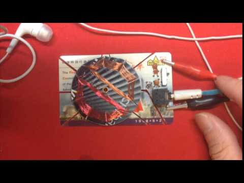 Circular Variometer Crystal Radio
