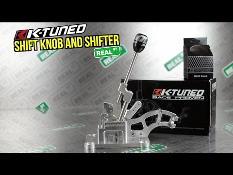 K-Tuned Shift Knob & Shifter - Real Street Performance