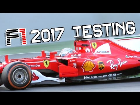 Formula 1 2017 sound - Ferrari SF70H F1 car in Action!