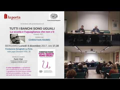 04.12.2017   Christian Raimo - Tutti i banchi sono uguali