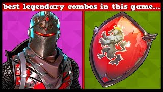 10 BEST LEGENDARY SKIN + BACKBLING COMBOS In FORTNITE! (You Hate These!)