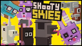 SHOOTY SKIES All 7 Secret Characters Unlock | Hipster Whale, Drama Llama | NEW Halloween Update
