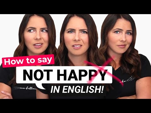 Negative Emotions in English ???? Expressions, Body Language & Tone