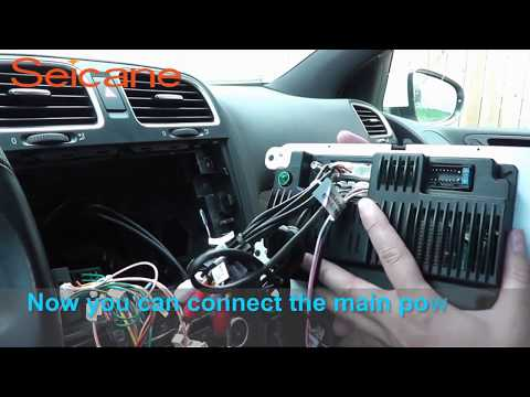 Stereo Wire Diagram How To Remove Upgrade Car Stereo Radio 2010 2011 2013 Vw