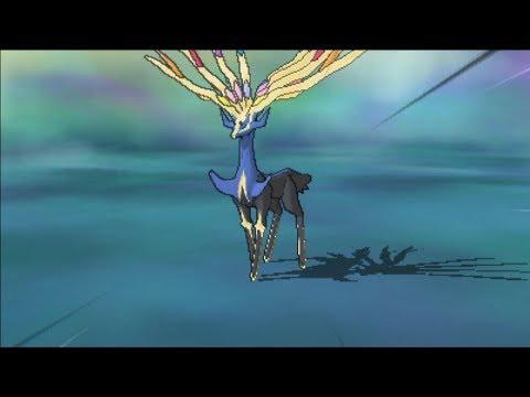 Pokemon Ultra Sun & Ultra Moon : Capturing Xerneas