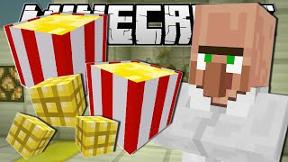 Minecraft | MOVIE NIGHT SNACKS!! (Popcorn Machine) | Custom Command