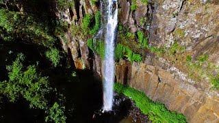 River-Crossings-Track zu den Queen Marry Falls | DJI Phantom 3 Pro