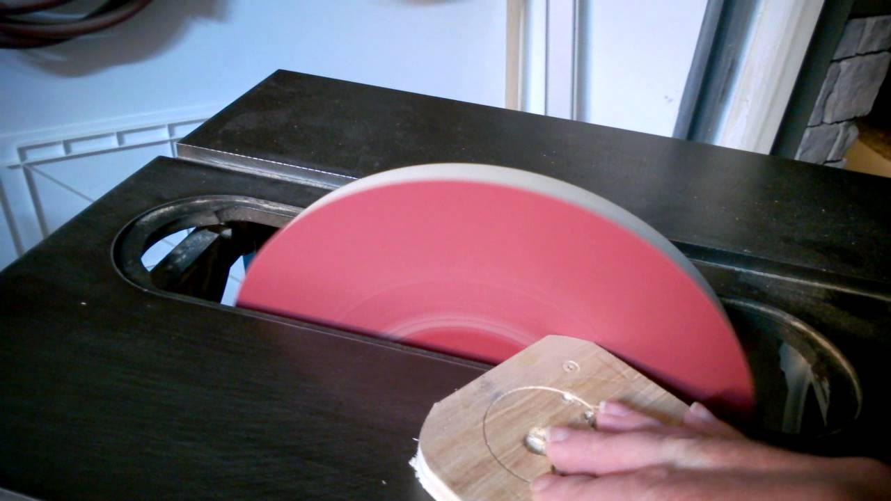 Table saw disc sander youtube for 10 sanding disc for table saw