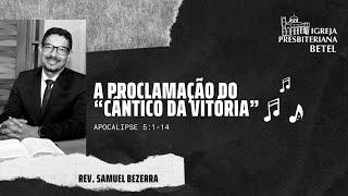 """02/08/2020 - A PROCLAMAÇÃO DO """"CÂNTICO DA VITÓRIA"""""""