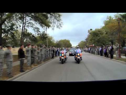 Marine Cpl. Jonathan Porto is Escorted Back Home-Pt.2