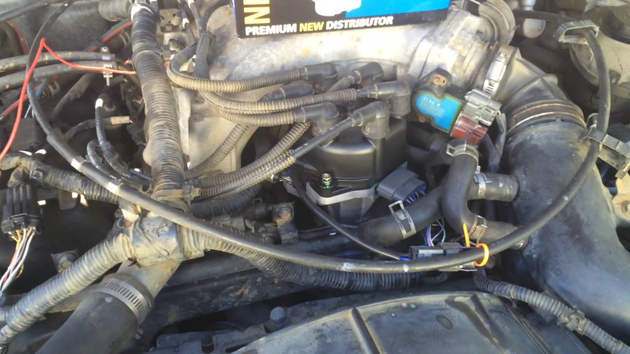 1997 Nissan Pathfinder Richporter NS60 Distributor Replaced with NAPA  distributor by cxq109