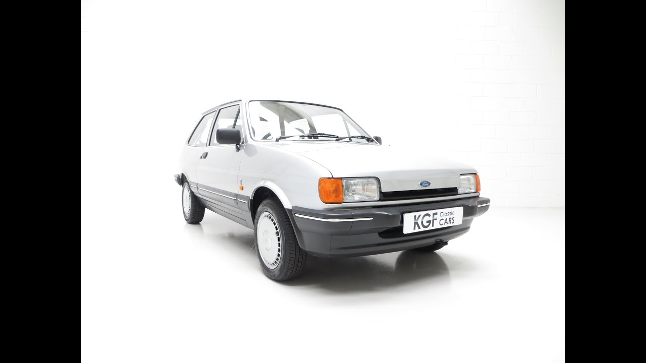 An Astonishing Ford Fiesta Mk2 1.1 Ghia with Just 22,787 Miles ...