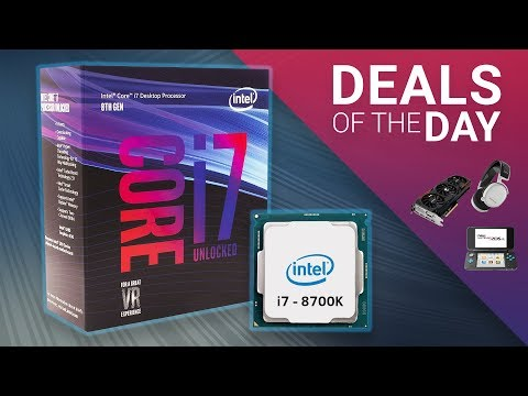 Cheap 1070 Ti, i7-8700K, Mechanical Keyboard & More - Daily Tech Deals