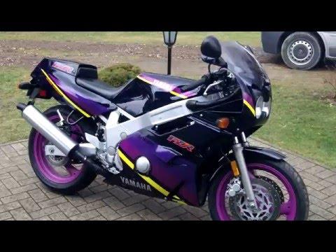 Yamaha FZR 600 Genesis 1994 100% Oryginal USDM Start UP Sound Walkaround