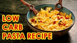 Recipe - Easy, low carb, vegetarian  pasta