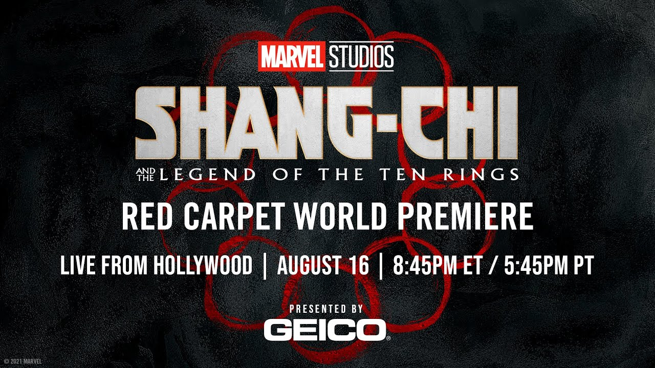 Download Marvel Studios' Shang-Chi and the Legend of the Ten Rings | Red Carpet LIVE!
