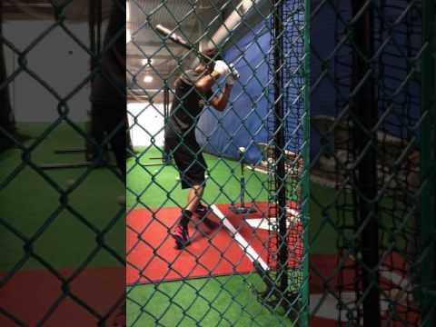 Nico Malbrough (SJSU) verbal commitment. Summer training FOM hitting academy Sacramento ca