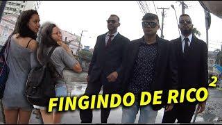 ME FINGI DE RICO COM 2 SEGURANÇAS NO CENTRO DA CIDADE #GersonResponde 07
