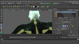 Easy Quick rig in maya 2017 beginner tutorial 02