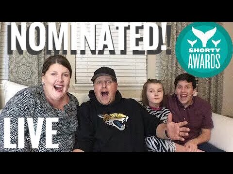 Nominated For The Shorty Awards! ...and some Q&A of course