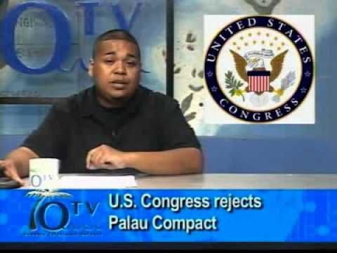 U.S. Congress Rejects Palau Compact Agreement