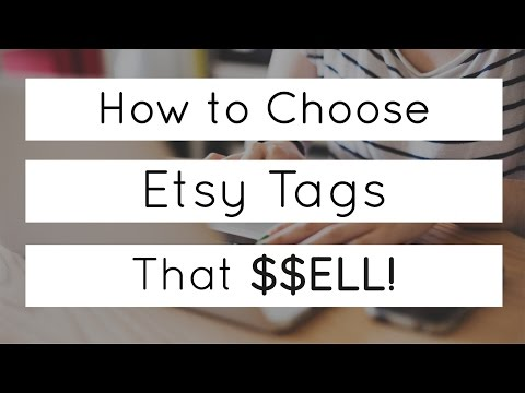 Marmalead Tutorial: How to Choose Etsy Tags that Sell
