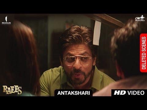 Raees | Antakshari | Deleted Scene | Shah...