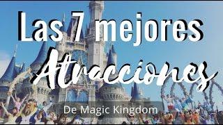 Las mejores atracciones de Magic Kingdom (Disney World)