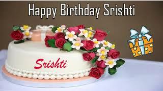Happy Birthday Srishti Image Wishes✔