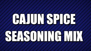 Cajun Spice Seasoning Mix - My3 Foods - Easy To Learn
