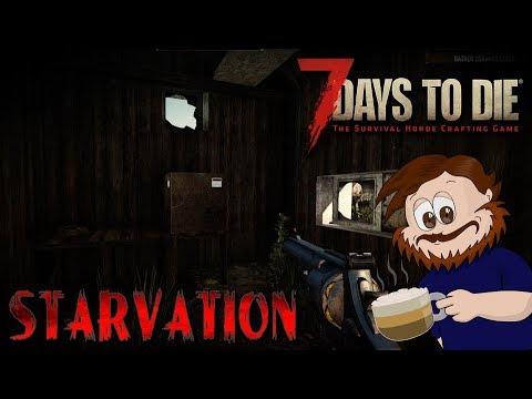 7 Days To Die Starvation 16 #48 Gdzie ten plastik gdy jest potrzebny!