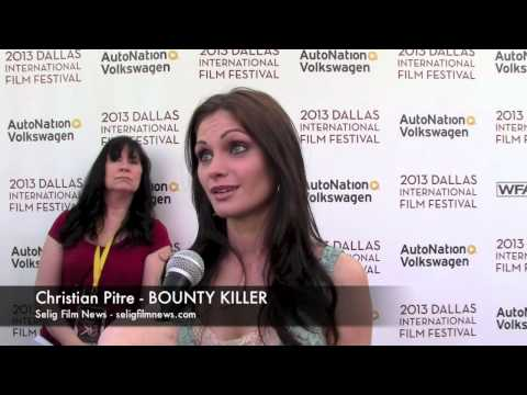 DIFF 2013 Red Carpet: Christian Pitre - BOUNTY KILLER