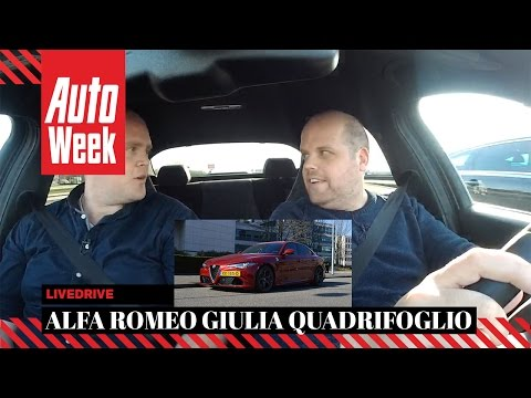 AutoWeek LiveDrive - Aflevering 12- Alfa Romeo Giulia Quadrifoglio