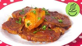 Lokum Gibi Salçalı Biftek - Soslu Biftek Nasıl Pişirilir - Et Mühürleme