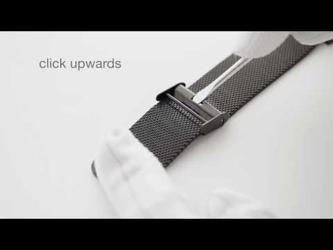 How to adjust a meshband Tayroc watch strap
