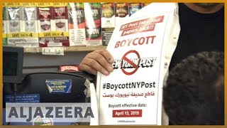 🇺🇸 NY Post boycotted by Yemeni-Americans over Ilhan Omar, 9/11 cover   Al Jazeera English