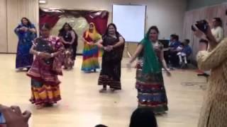 Rajasthani folk dance at Northeast Iowa India Assoc. 14 Apr