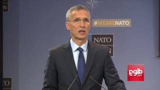 NATO Chief 'Hopes To Give Feedback' On Troops After Meeting