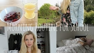 My Morning Routine | School Edition 2014 ♡ Thumbnail