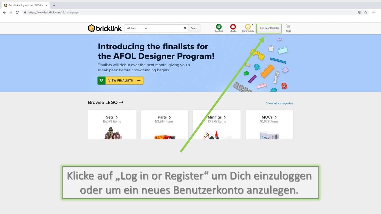Tutorial: Wie kann man eine XML Datei bei Bricklink