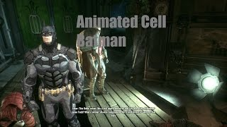 Batman Arkham Knight Animated Cell Batman