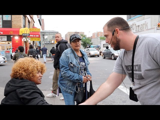 Holy Spirit fire in Harlem!