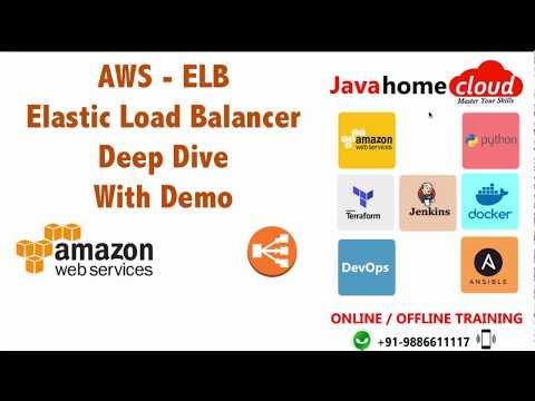 AWS : Elastic Load Balancer Deep Dive - With Demo - YouTube
