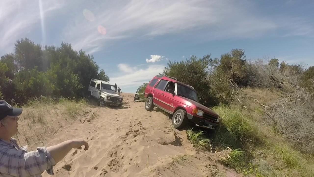 pinamar 2016 - land rover club argentina - youtube