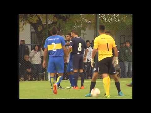Los goles de Acassuso: 3 - Boca: 1