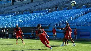 Pre-Season Live: Liverpool train at Bank of America Stadium | Klopp speaks pitchside