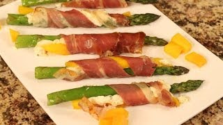 Proscuitto And Mango Wrapped Asparagus Recipe By Rockin Robin